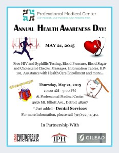 Flyer PMC health awareness day 2015-2
